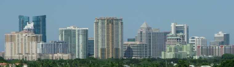 downtown fort lauderdale skyline